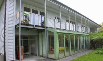 Um- und Anbau Einfamilienhaus – Baar 1993