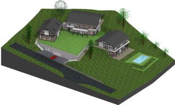 3 neue HUF Häuser in Basel-Land